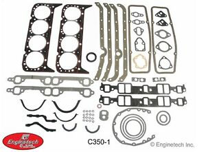 Enginetech Chevy Sbc 283 307 327 350 5 7 Overhaul Gasket Set 1959 1985