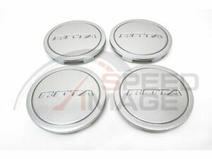 Rota Wheels Z Center Caps Silver Replacement G Force Grid V Titan Dpt
