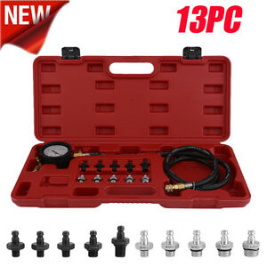13pc Deluxe Automatic Transmission Engine Oil Pressure Tester Case 140psi New