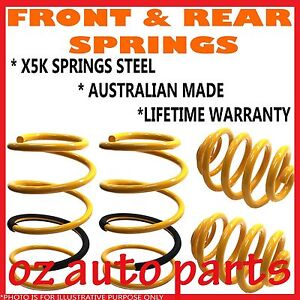 Mazda 323 Bg Inc Astina Bg1061 2 Bg10p1 2 Front Rear Standard Height Springs