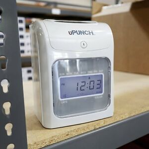 Calculating Upunch Hn4500 Electric Punch Time Clocks For Employees Bundle Cards