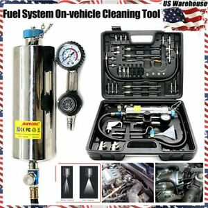 Autool Non Dismantle Injector Cleaner Tester Fuel System For Petrol Car Us Stock