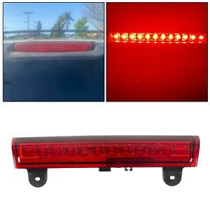 00 06 Tahoe Suburban Yukon Red Housing Rear Roof 3rd Third Brake Led Light