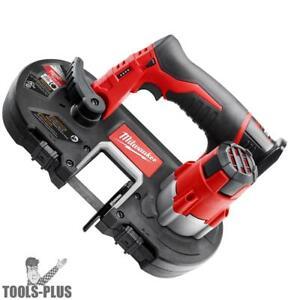 Milwaukee 2429 20 M12 Cordless Sub compact Band Saw tool Only New
