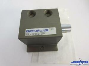 Fabco air Sql 121x1 2dr Square 1 Compact Air Cylinder 1 1 8 Bore