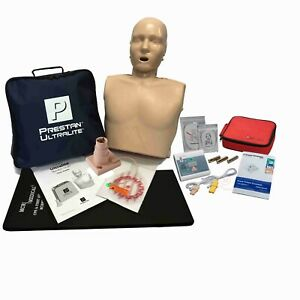 Basic Cpr Training Kit Prestan Ultralite Manikin W Feedback Wnl Aed Essentials