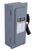 Hu361 600vac 600vdc 30a 3pole Heavy Duty Non fusible Single Throw Safety Switch
