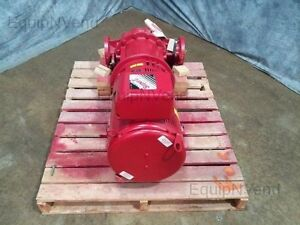Armstrong Split Coupled Vertical In line Pumps Valves 3x3x1050 Hp