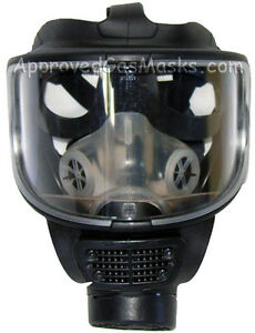 Scott Promask Nbc Tactical Nato 40mm Gas Mask W Cbrn Approved Filter Exp 6 2024