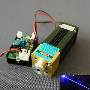 Super Powerful 450nm 3 5w 3500mw Blue Laser Dot Module Dc12v Engraving Lazer