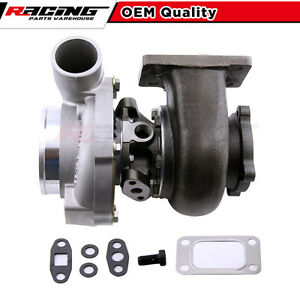 Gt30 Gt3037 T3 Turbo Charger 4 Bolt Anti Surge Water Cooled Civic In