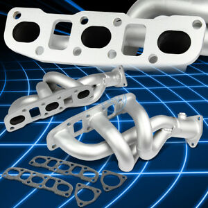 Paint Finished Racing Performance Header Manifold Exhaust For 350z Z33 G35 Vq35