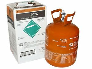 R407c Refrigerant 407c 25 Jug Cylinder Virgin New Sealed Fast Shipping