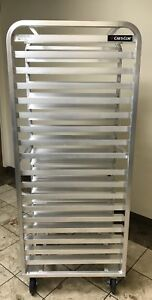 Crescor Angle Ledge Roll In Refrigerator Rack