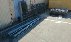 Industrial Warehouse Shelving Racks H Stands 8ft Beams