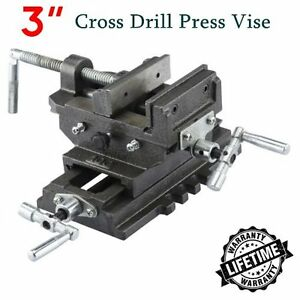 New 3 Cross Drill Press Vise X y Clamp Machine Slide Metal Milling 2 Way Hd Ek
