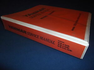 Yanmar V3 5 V4 5 V4 5hl Wheel Loader Service Shop Repair Manual Book