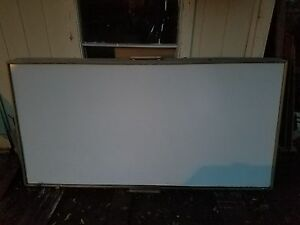 4 X 8 Wood Frame Magnetic Dry Erase Board Nice