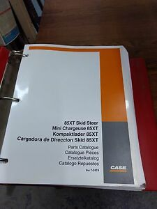 Case 85xt Skid Steer Parts Catalog