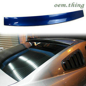 Painted Ford Mustang 2dr Coupe Rear Roof Spoiler Abs 2013