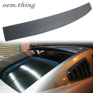 In Stock Usa Ford Mustang 2dr Coupe Window Roof Spoiler 2013 Unpainted Abs