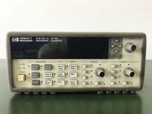 Hp 53131a Universal Frequency Counter Option 010 3 Ghz