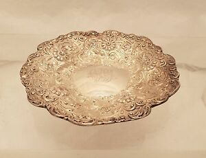 Tiffany Co Sterling Serving Dish