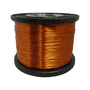 30 Awg Gauge Enameled Copper Magnet Wire 10 Lbs 31362 Length 0 0114 200c Nat