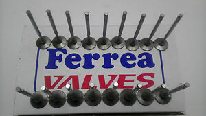 Ferrea 6000 Competition Valves Ford Fe 352 390 427 428 1 6505 Exh 2 09 3 8