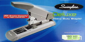 Swingline Deluxe Heavy Duty Stapler 160 Sheet Hd Staple new Other