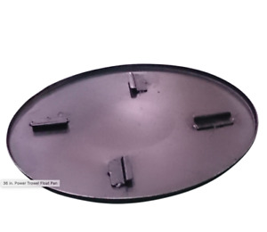 Hoc Power Trowel Float Pan 24 Inch Fits Any Manufacturer 1 Year Warranty