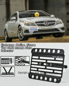 For 2014 up Benz E class Coupe Pdc Front Tow Hook License Plate Bracket C207