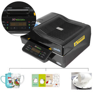 3d Vacuum Heat Press Transfer Machine Sublimation Phone Case Mug Cup Printing