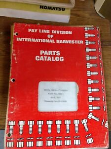 International Harvester Ih 100e Pay Loader Parts Catalog Manual