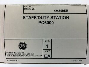4a2495b Staff Duty Station Pc6000 Pro Care Ge Patient Dukane Nurse Call New
