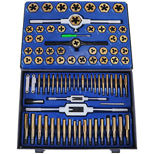 Tap And Die Set 86 Pieces Sae And Metric W storage Case Threading Tool Set Best