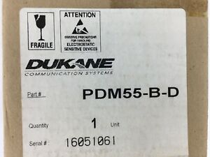 Pdm55 b d Supervised Double Patient Station Dukane Nurse Call Ge Ascom Staff