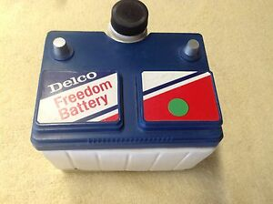 Ac Delco Freedom Battery Jim Beam Whiskey Decanter Empty