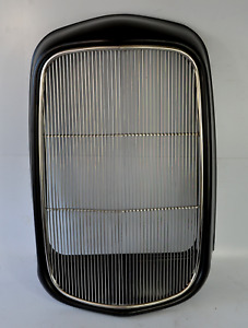 1932 Ford Original Style Grill Shell W Stainless Insert Smooth No Holes