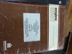 International Harvester Diesel Engine Service Manual D 11 D 179 D 206 D 239 Dt 2