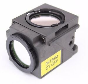 Nikon Cy Gfp Fluorescence Quadfluor Cube For Eclipse Microscope