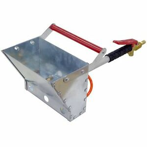 Air Powered Stucco Mortar Plastering Sprayer Hopper Gun Spraying Stucko