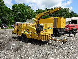 Vermeer Bc1800a 18 Brush Chipper Runs Exc Video John Deere 6068t Bc1800