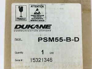 Psm55 b d Supervised Single Patient Stations Dukane Nurse Call Monitor Panel New