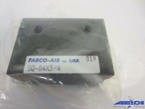 Fabco air Sq 04x3 4 Square 1 Compact Air Cylinder