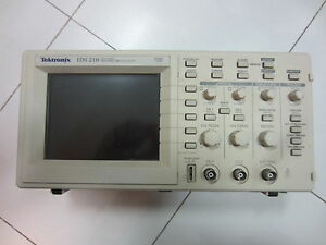 Tektronix Tds210 Two Channel 1 Gs s 60 Mhz Digital Real time Oscilloscope