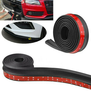 98 X2 5 Universal Car Front Rear Bumper Lip Splitter Body Spoiler Skirt Valence