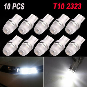 10 Super White High Power T10 Wedge Samsung Led Light Bulbs W5w 192 168 194 12v