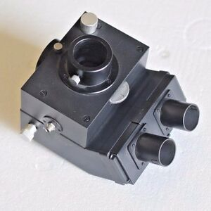 Leitz Wetzlar Germany Quad Microscope Head 512787