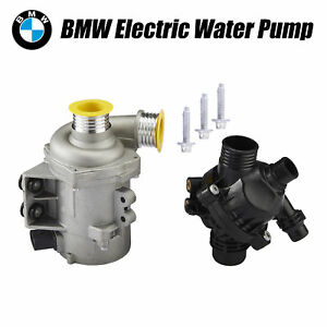 Premium Electric Engine Water Pump Thermostat For Bmw Direct Fit 11517586925